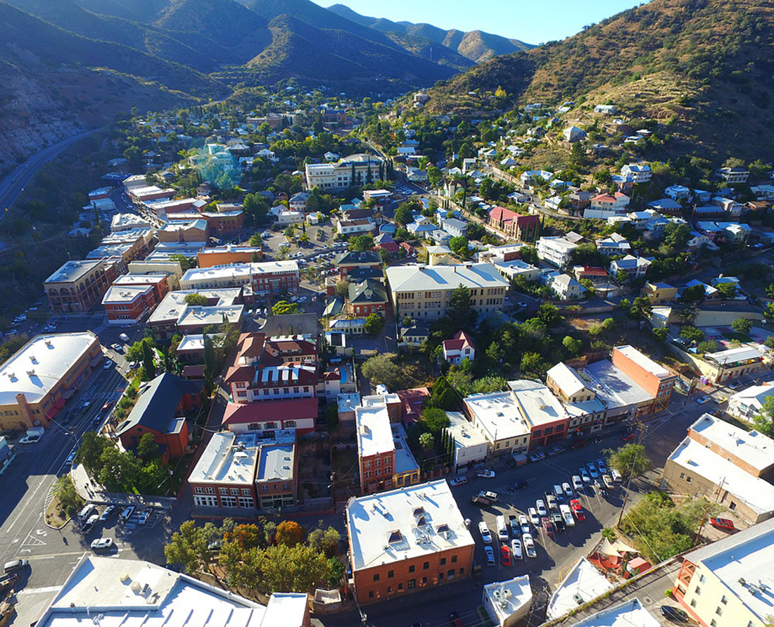 Travel to Bisbee to discover one of those great, small southwest America towns where time has stood still. Photo Credit: Bisbee Visitor Center