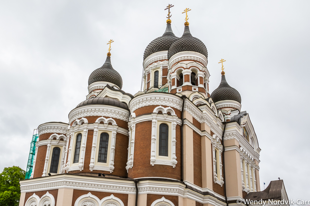 Visit the stunning Russian Orthodox Cathedral in Tallinn, Estonia. There is plenty to discover in Tallinn's Old Town. It is rich in medieval and Hanseatic history and is a designated UNESCO World Heritage Site. Photo Credit: Wendy Nordvik-Carr