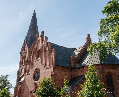 Visit the Warnemünde Church. It is built of brick in a neo-Gothic style. Photo Credit: Wendy Nordvik-Carr