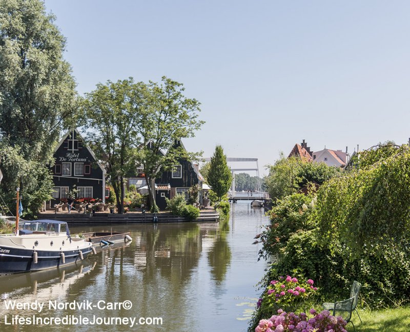 Visit the canals, one of the top things to do in Edam. The picturesque town of Edam has 17th century architecture along its historic streets and canals. Once a shipbuilding town, Edam is world famous for its cheese. Edam is located in northern Dutch countryside near Amsterdam. Photo Credit: Wendy Nordvik-Carr©