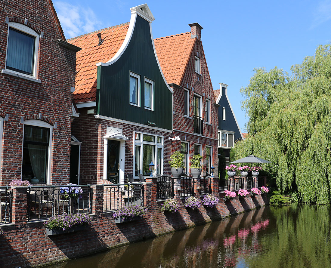 Discover the picturesque Dutch town of Volendam. The historic streets of the charming town of Volendam in the Dutch countryside. Photo Credit: Wendy Nordvik-Carr©
