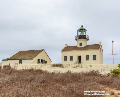 Point Loma Lighthouse was one of the first lighthouses on the west coast. Visit San Diego's Cabrillo National Monument to learn about the history. Photo Credit: Wendy Nordvik-Carr©