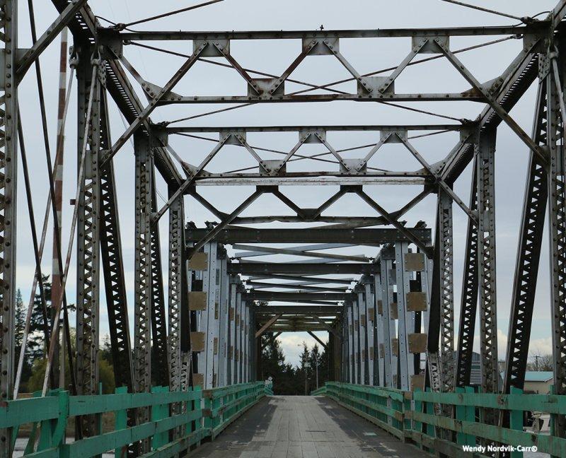 Historic Westham Island Swing Bridge in Delta BC. Photo Credit: Wendy Nordvik-Carr©