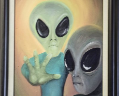 The Roswell UFO incident. aliens and conspiracies. Photo Credit: Wendy Nordvik-Carr©