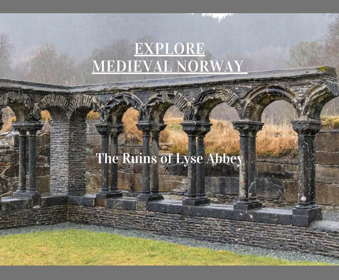 Explore Medieval Norway the ruins of Lyse Abbey near Bergen. Photo Credit: Wendy Nordvik-Carr©