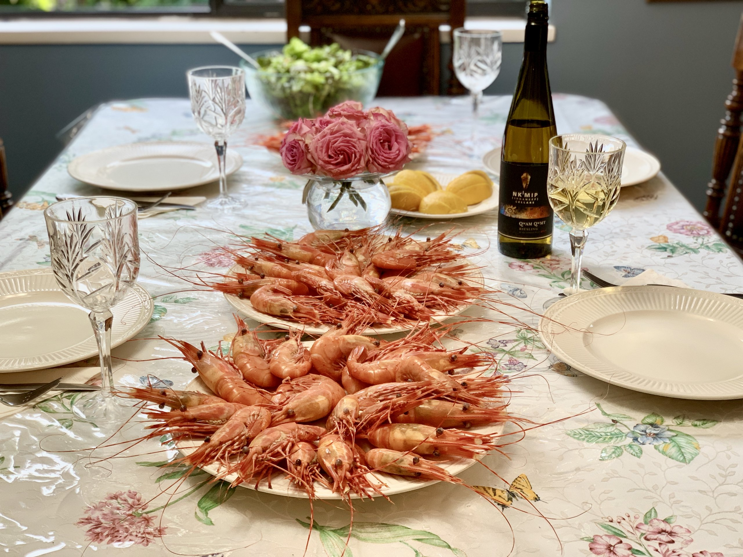 Where to buy the best BC spot prawns.